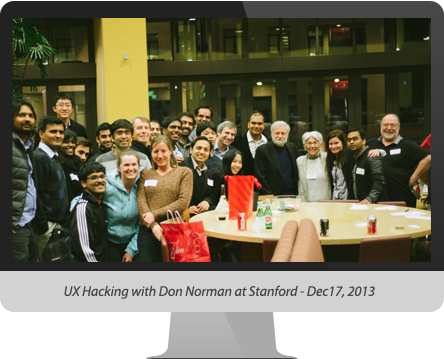 UX Hacking with Don Norman at Stanford